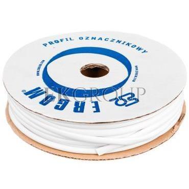 Profil okrągły PCV biały do nadruku DPO 5,5/25 biały E04ZP-04020300900-182937