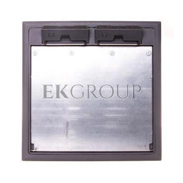Kaseta podłogowa zasilająca 8-modułowa 264x242mm GES9/55U V 7011 7405037-179967