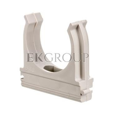 Uchwyt otwarty do rur gładkich fi 40mm ECCF40 /50szt./-183102