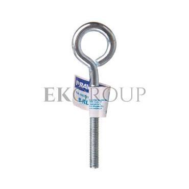 Hak metryczny zamknięty 8x60mm B-RL-M8X60-HZ /50szt./-179874