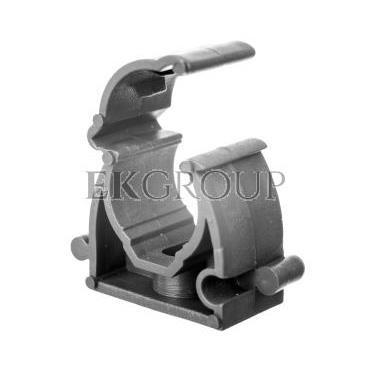 Uchwyt zamknięty do rur 16mm szary UZ 16 SZ 10189 /100szt./-183207