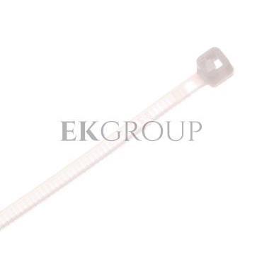 Opaska kablowa 2.5mm 140mm biała OZN 25-140 25.20 /100szt./-180996