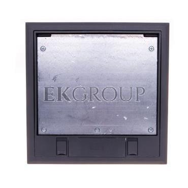 Kaseta podłogowa zasilająca 6-modułowa szara GES4-2U10T 7011 7405145-179955