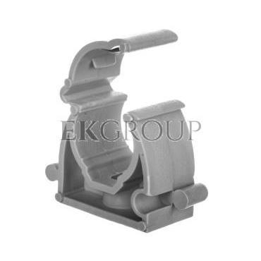 Uchwyt zamykany 16mm bezhalogenowy szary UZHF 16 10860 /100szt./-183212