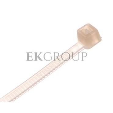 Opaska kablowa 160x2,5 biała ITA025160W /100szt/-181054
