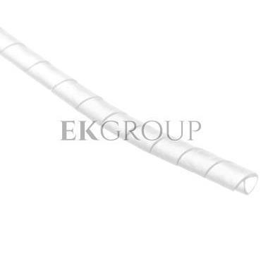 Wężyk ochronny spiralny P 6 mm 8 mm biały /25m/ ECP06-181266