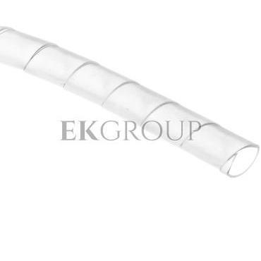 Wężyk ochronny spiralny P 10 mm 12 mm biały /25m/ ECP10-181268