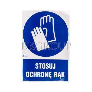 Tabliczka ostrzegawcza /Stosuj ochronę rąk z podpisem/ IM/009/1/C1/F-182884