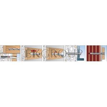 Kołek ramowy FUR 8X100 SS 070131 /50szt./-180374