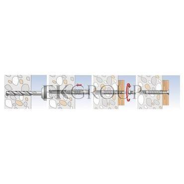 Kołek rozporowy SX 8x40 S/20 070022 /50szt./-180455