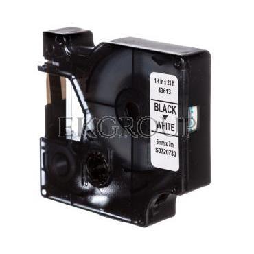 Taśma samoprzylepna do drukarek DYMO TDD 43613 (211-6) BK/WT E04ZP-03100400601-182930