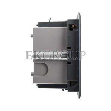 Simon Connect Puszka SF podłogowa pojedyncza 2xK45   SM102/9 szara SF170/1-182238
