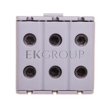 Zacisk trojtorowy KE-61.03 szary (2,5-50mm)-184057