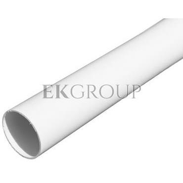 Rura elektroinstalacyjna sztywna gładka RL 37 biała 15158 /2m/-182369