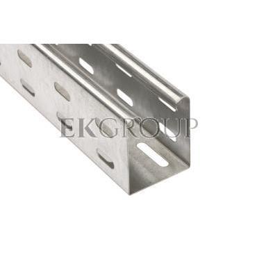 Korytko kablowe perforowane 50x60 grubość 0,75mm LKS 605 FS 6048850 /2 x 2m/-180041