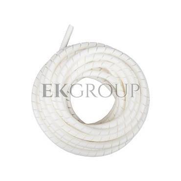 Wężyk ochronny spiralny WSN 12/V2 biały E01WS-01010300500 /10m/-181176