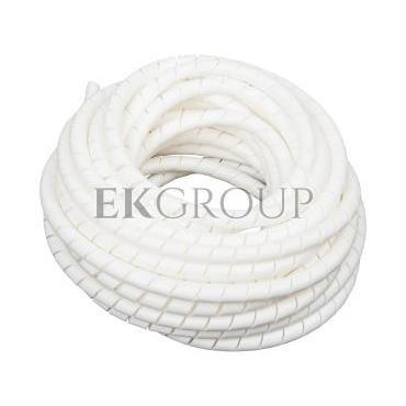 Wężyk ochronny spiralny WSN 12/V2 biały E01WS-01010300500 /10m/-181177