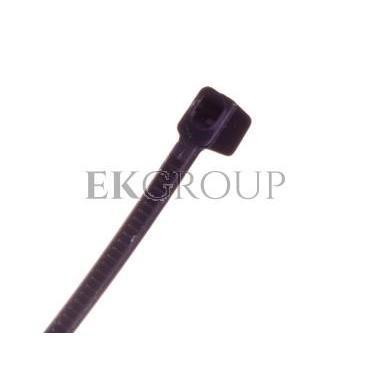 Opaska kablowa odporna na UV TKUV 12/3 czarna E01TK-01050100301 /100szt./-180951