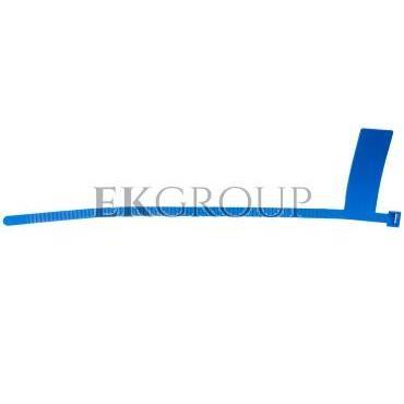 Opaska kablowa OINT 38/9 niebieska 25.380-180859