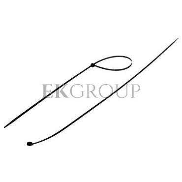 Opaska kablowa odporna na UV TKUV 40/3,6 czarna E01TK-01050100901 /100szt./-180898