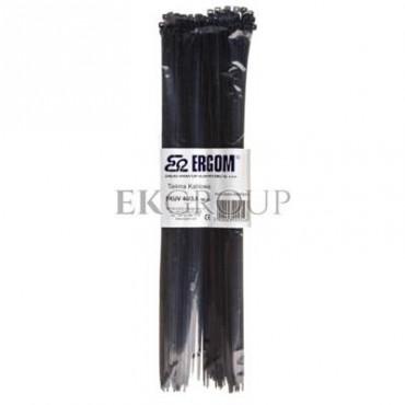 Opaska kablowa odporna na UV TKUV 40/3,6 czarna E01TK-01050100901 /100szt./-180899