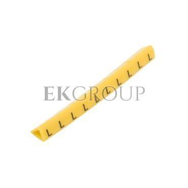 Oznacznik przewodów OZ-1/L żółty E04ZP-01020203300 (100szt.)-181308