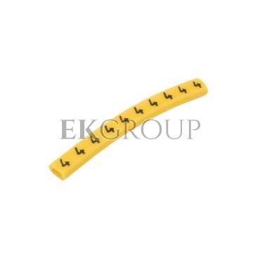 Oznacznik przewodów OZ-0/4 żółty E04ZP-01020100500 (100szt.)-181311
