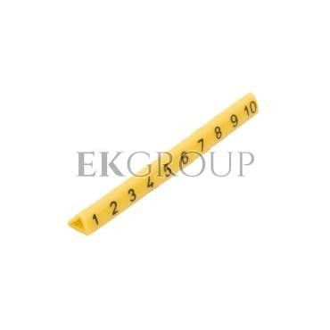 Oznacznik przewodów OZ-1/1-10 żółty E04ZP-01020201100 (100szt.)-181319