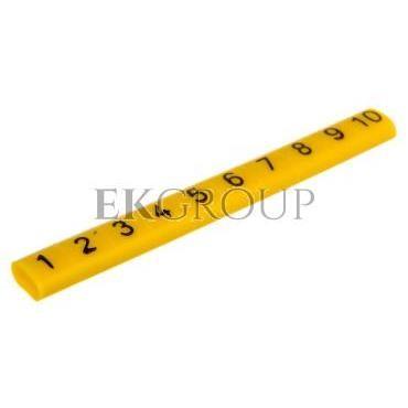 Oznacznik przewodów OZ-0/1-10 żółty E04ZP-01020101100 /100szt./-181547