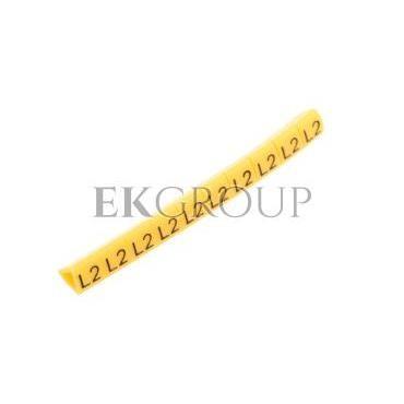 Oznacznik przewodów OZ-1/L2 żółty E04ZP-01020206100 /100szt./-181332
