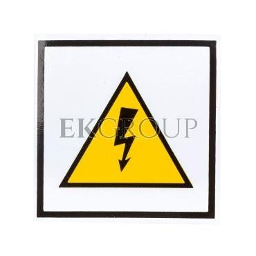 Tabliczka /znak ostrzegawczy/ TZO 74x74S E04TZ-01010102200 /10szt./-182810