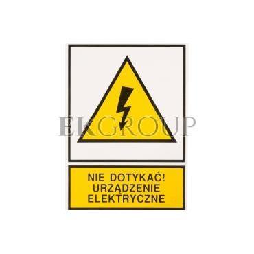 Tabliczka /znak ostrzegawczy/ TZO 148X210S /N.D.U.E./ E04TZ-01011140100 /10szt./-182792