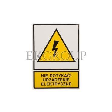 Tabliczka /znak ostrzegawczy/ TZO 105X148S /N.D.U.E./ E04TZ-01011130100 /10szt./-182793
