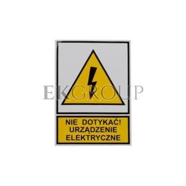 Tabliczka /znak ostrzegawczy/ TZO 52X74S /N.D.U.E./ E04TZ-01011110100 /10szt./-182794