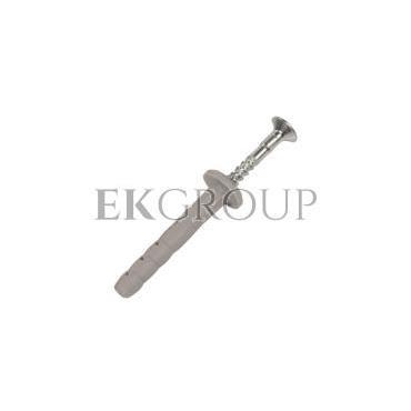Kołek szybkiego montażu fi6 z kołnierzem 6x40 FX-06K040 /200szt./-180175