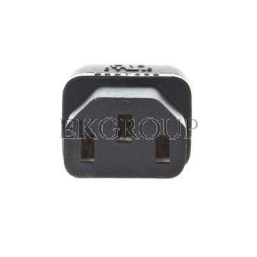 Adapter IEC C13 / IEC C5 koniczynka WAADAPATIEC1-184342