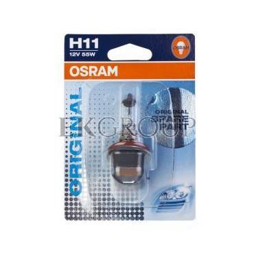 Żarówka samochodowa H11 55W ORIGINAL 12V 64211-01B 4008321171252-190671