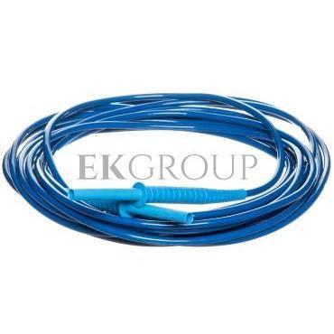 Przewód pomiarowy 10m niebieski 10kV /wtyki bananowe/ WAPRZ010BUBB10K-186641