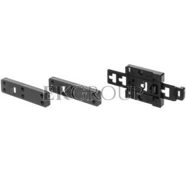 Zaczep do mocowania miernika na szynie DIN z łącznikami stabilizującymi - 3 elementy WAPOZUCH3-184360