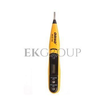 Próbnik instalacji elektryczynej 12-250V 50-500Hz OR-AE-1320-186464
