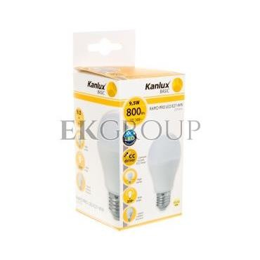 Żarówka LED 9,5W RAPID PRO LED E27-WW 3000K 800lm 22950-189948