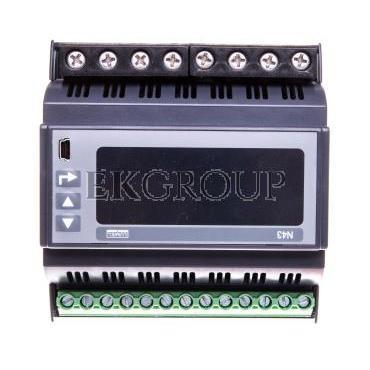 Miernik sieci 3-fazowej wej. I 63A wej. U 3x230/400V zasilanie 85-253V AC 90-300V DC N43 22100P0-185654