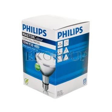 Lampa metahalogenkowa MC CDM-R Elite 70W/930 E27 3000K PAR30L 40D 8718291241904-185231