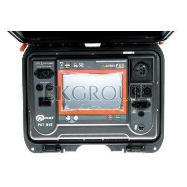 Miernik bezpieczeństwa sprzętu elektrycznego PAT-815 WMPLPAT815-185543