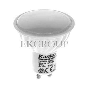 Żarówka LED 3W GU10 220-240V AC zimna barwa 270lm TOMI LED3W GU10-CW  LAMPA LED 22703-189825