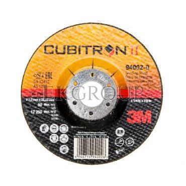 Tarcza do szlifowania 125x7x22,23mm Cubitron II T27 65509 XC991187995/7100074405-188139