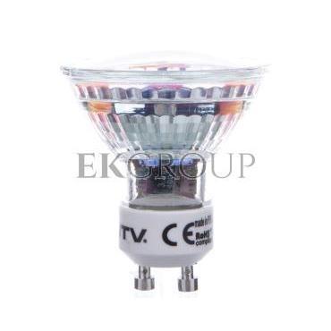 Żarówka LED SMD 2835 ciepły biały GU10 3000K 4W 320lm 230V 120 stopni LD-SZ1510-30-190446