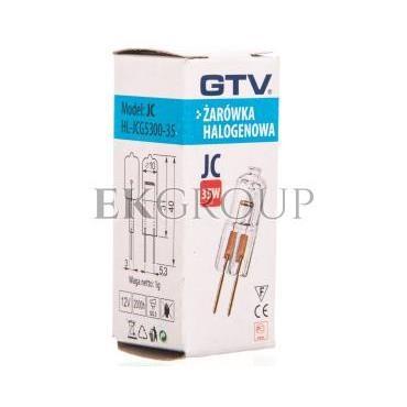 Żarówka halogenowa JC G5,3 35W 12V DC 550ml HL-JCG530-35-189474