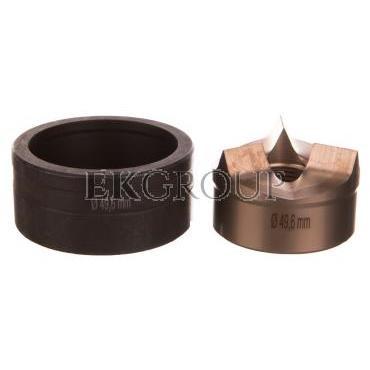 Wykrojnik do blachy stalowej nierdzewnej okrągły fi dziurkownika 49,6mm 4055.149-189250