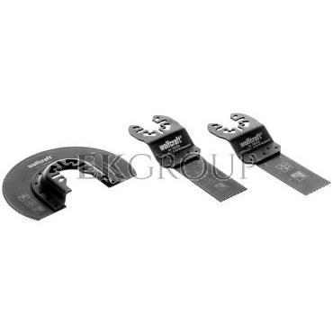 Zestaw brzeszczotów do multiszlifierek drewno metal tworzywo WF3992000-184370